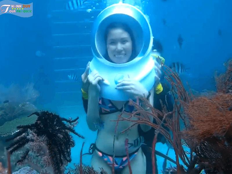 Tour Cano 4 Đảo Phú Quốc - Công Viên San Hô - Đi Bộ Dưới Đáy Biển